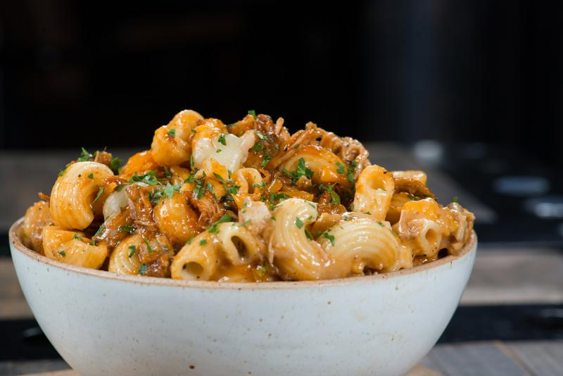 You won't be able to get enough of this mouth-watering twisted mac and cheese dish.