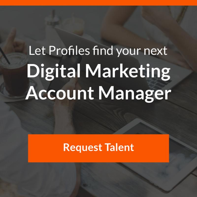 profiles digital marketing account manager talent