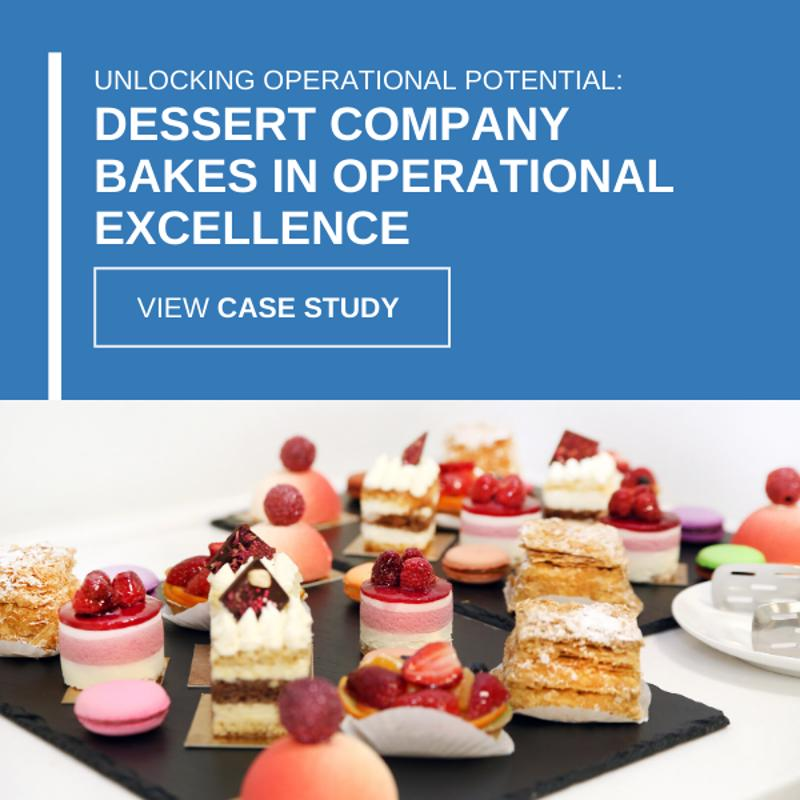 Unlocking operational potential: Dessert company bakes in operational excellence