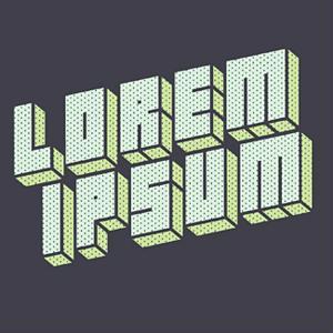 Lorem ipsum.