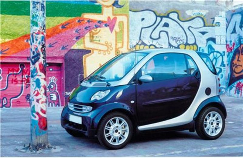 Smart cars tend to be smaller and can maneuver more quickly.