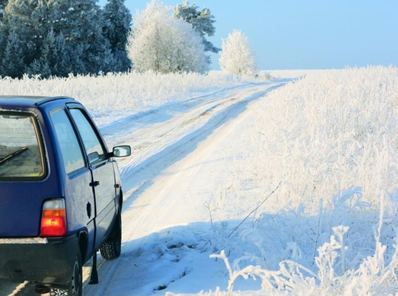 Always prepare yourself for your commute if you know the roads will be slick.