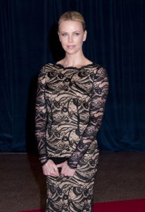 Charlize Theron earns crystal award for humanitarian efforts