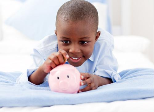 A child savings account can help teach financial education