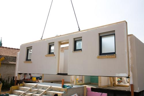 Modular homes and buildings are gaining traction in construction.