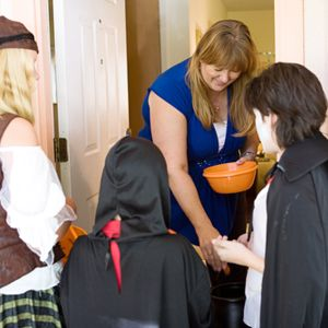 There were approximately 41 million trick-or-treaters in 2011