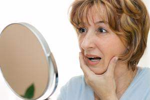 Reflections for Botox injections.
