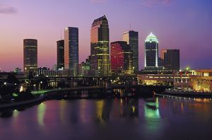 The Tampa Bay skyline near Clearwater Beach, Florida.  - Hyatt Travel News
