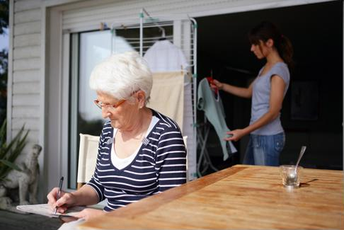 Caregiving tasks can be rewarding, but also time consuming.