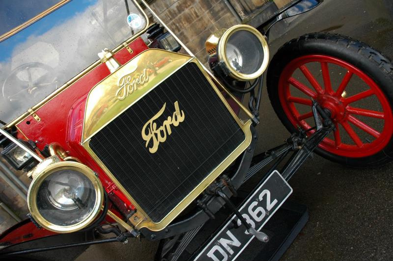 The Model T revolutionized the automobile market.