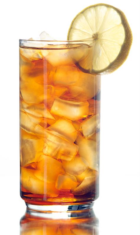 lemon wedge, garnish, iced tea, Mr. Coffee
