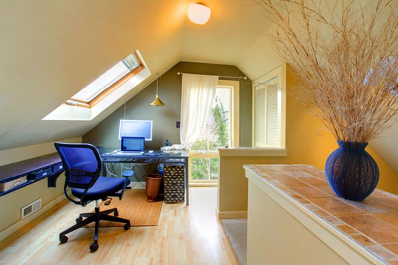 Skylights give any room a bit more class and appeal.