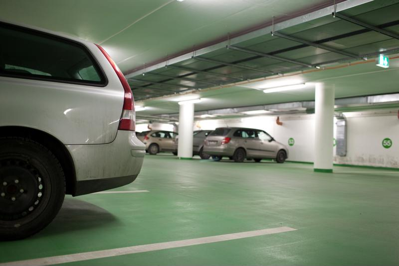 If you don't have your own garage, consider keeping your car in a public one for the night.