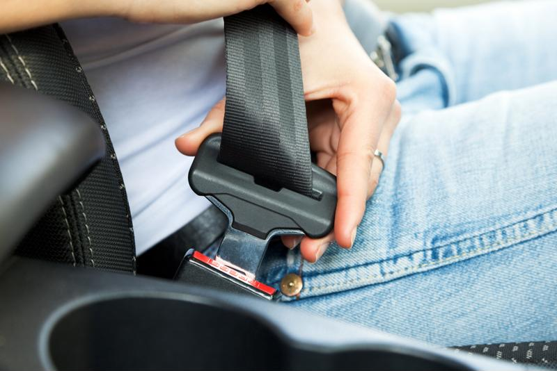 34 states have primary seat belt laws on the books, meaning you can be pulled over for not wearing one.