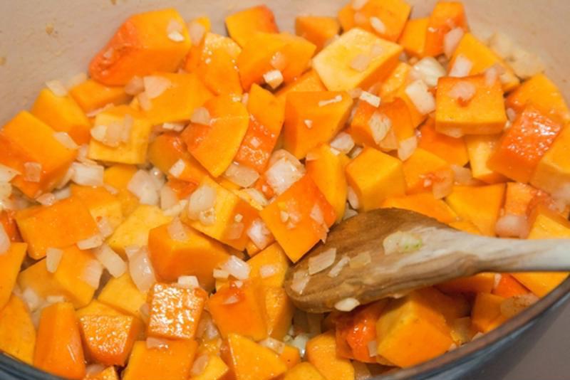 Use fresh butternut squash to create this autumn dish.