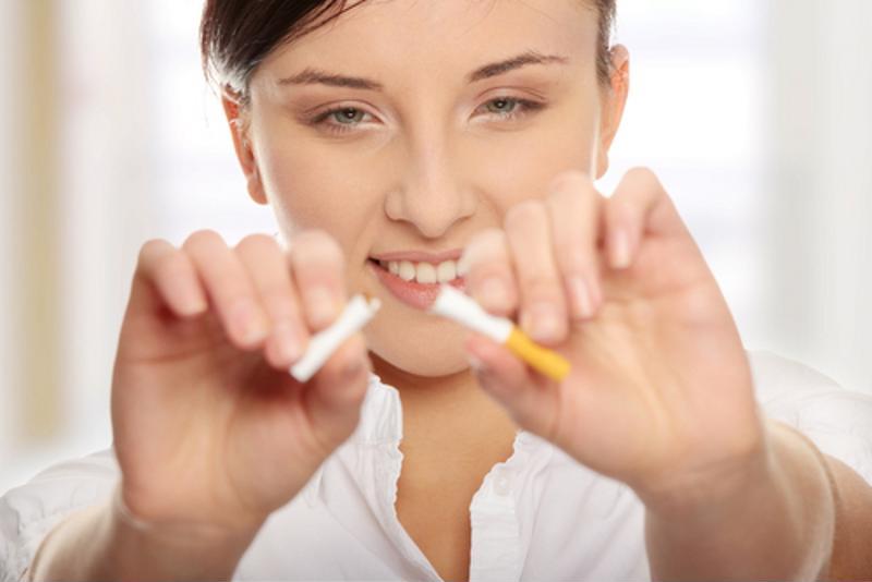 Fumar puede robar oxígeno en los pulmones.