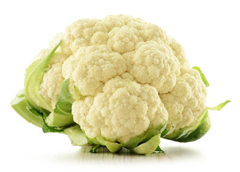 Cauliflower must be blanched before it's sealed.