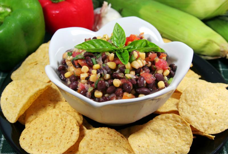 Charro beans also make for a zesty dip.