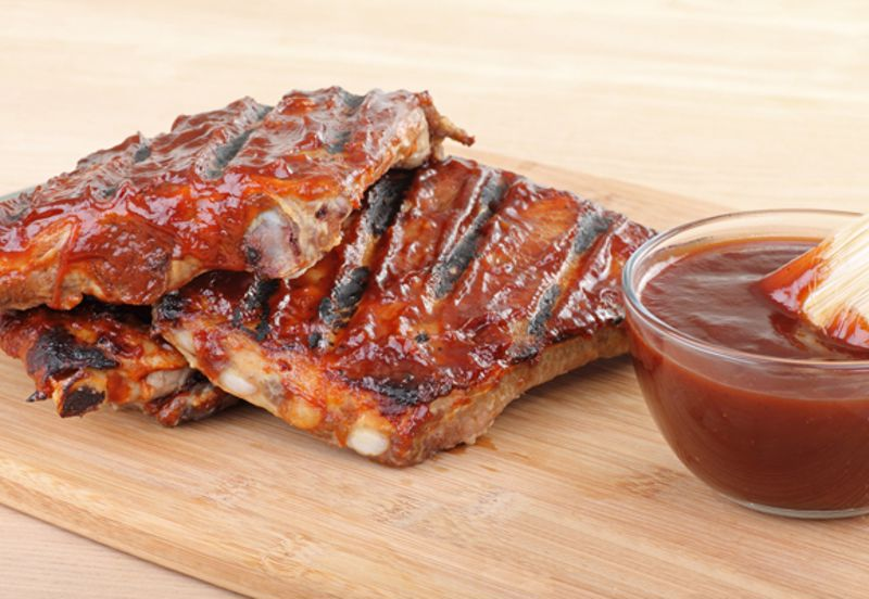 Both Kansas City and St. Louis are famous for their ribs.