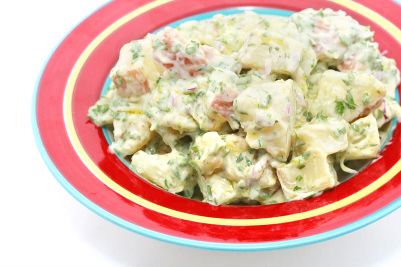 Potato salad is a great side for a classic BBQ.