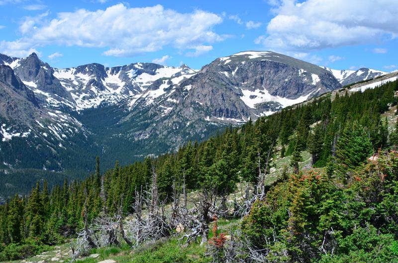 Enjoy gorgeous Rocky Mountain views during your trip.