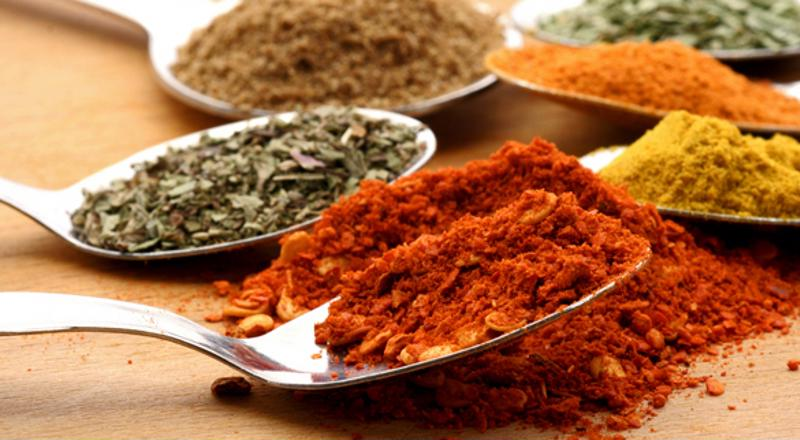 Consider using spices and herbs to curb cravings.