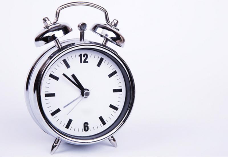 Getting up earlier can help give you more time to get things done.