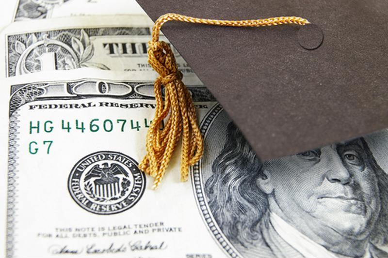 hundred dollar bill ben franklin graduation cap