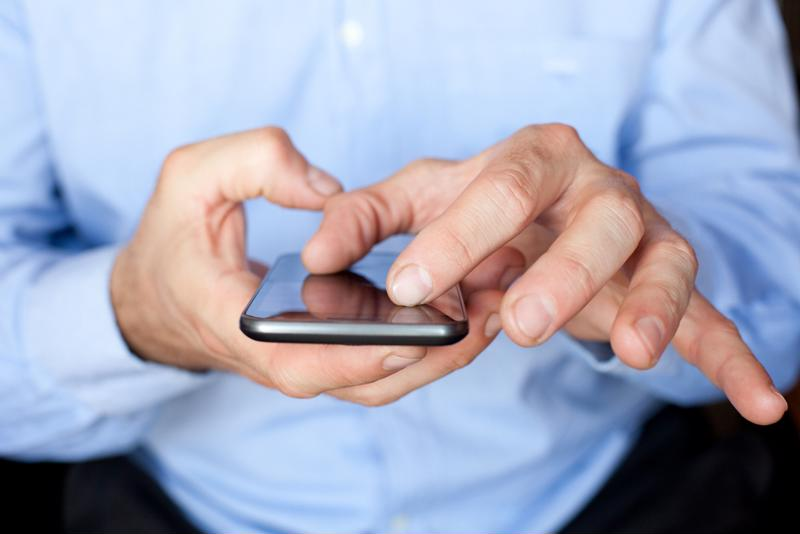 A text message is a common form of 2FA/MFA.