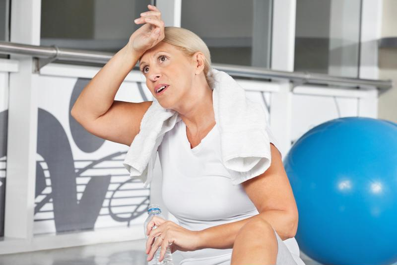 Hot flashes, feelings of fatigue and headaches can arrive unannounced.