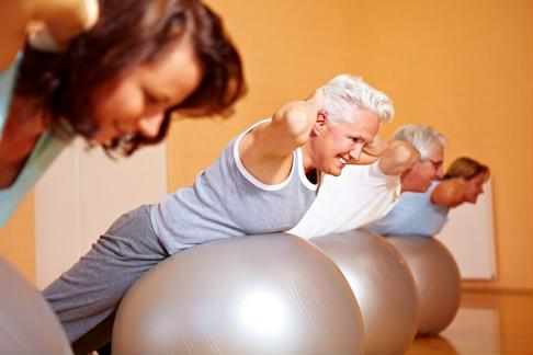 Take advantage of the free time and try a new exercise class.