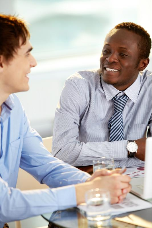The first step when getting a new boss is setting up a one-on-one meeting so that you can get to know each other.