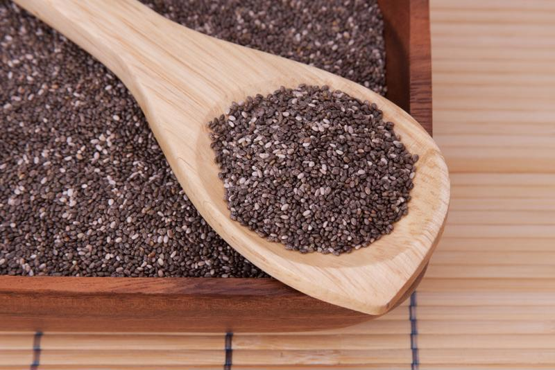 Chia seeds are an excellent source of protein.