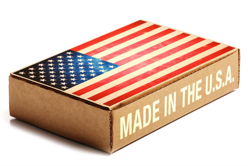 People say they're willing to pay more for American-made products.