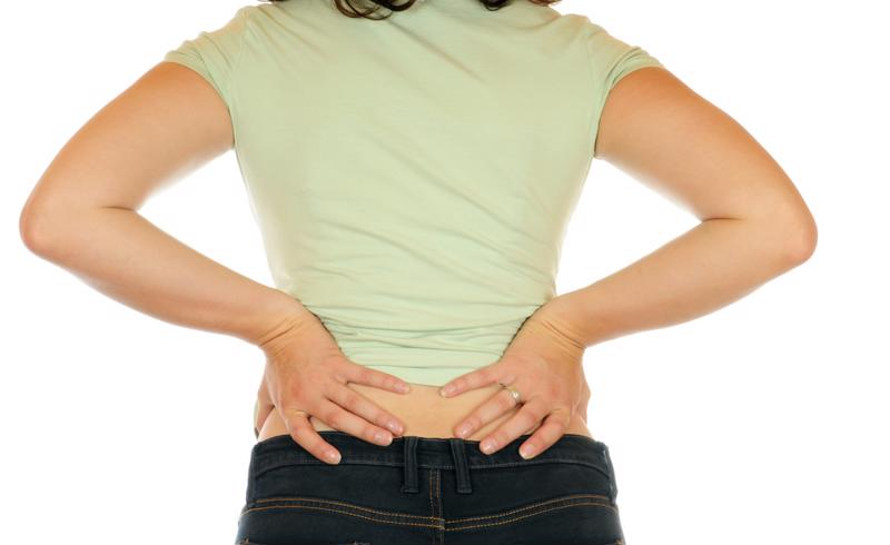 Poor posture can lead to lower back pain.