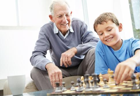 Share one of your grandfather's favorite activities with him this Father's Day.
