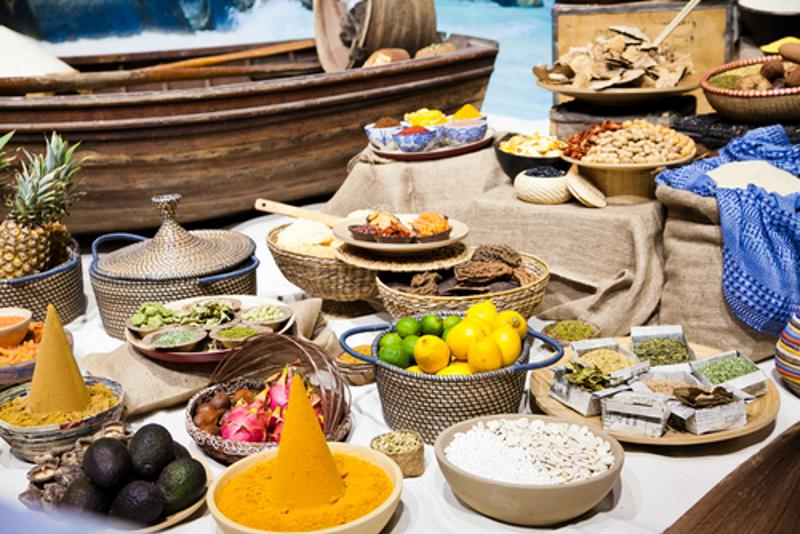 Morocco is well known for its unique cuisine, which is inspired but a variety of cultures.
