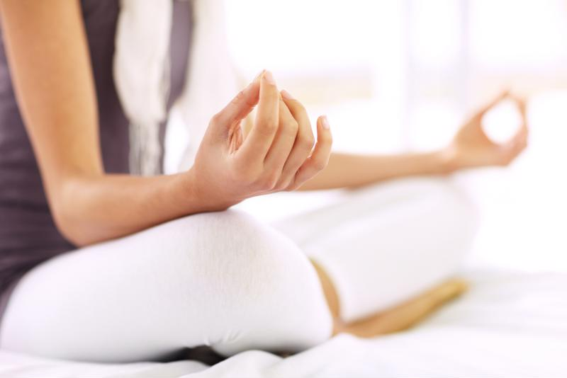 Deep breathing exercises may help reduce stress.