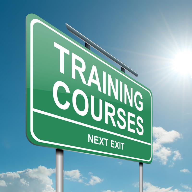 Don't discount online training courses, as these class offer extremely helpful coursework and certification tests.
