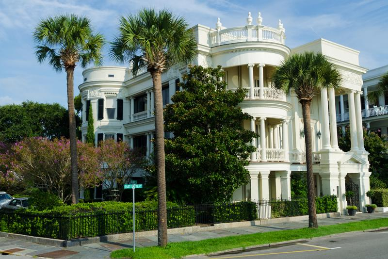 The beautiful architecture of Charleston is one of the city's major draws.