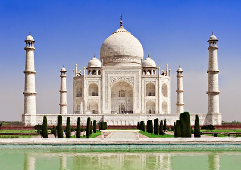 The Taj Mahal was once used as a mausoleum.