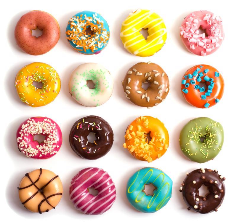 sprinkles, donuts, doughnuts