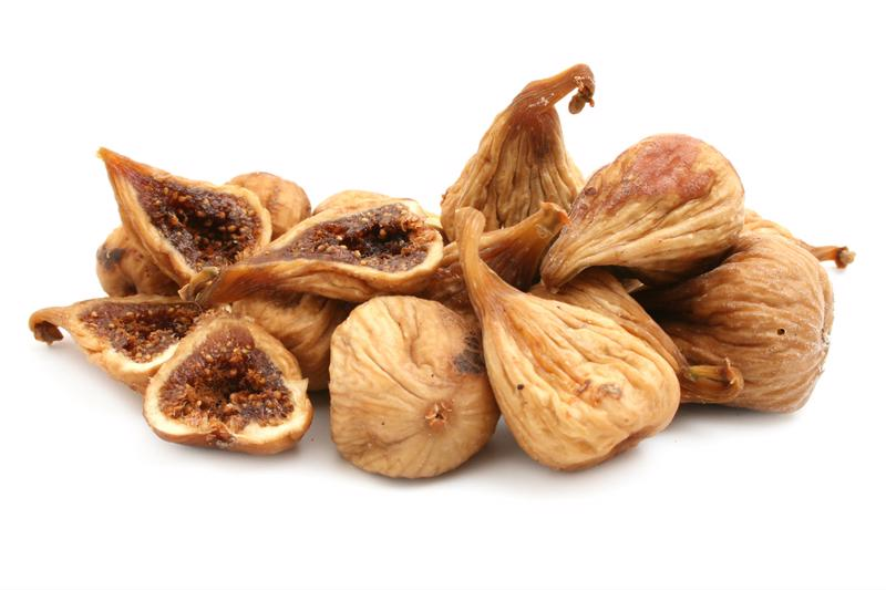 Dried figs are a great source of calcium.