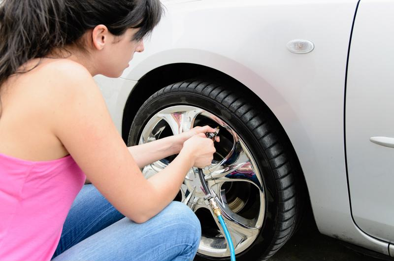 Check your tire pressure this summer to prepare for fall.