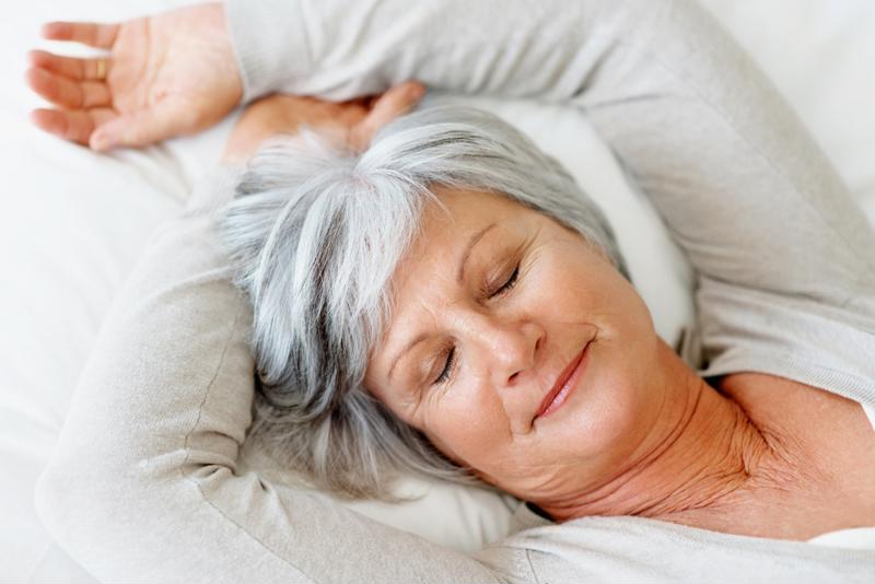 A good night's sleep can reduce your stress levels.