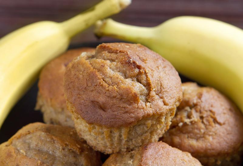 Banana muffins are delicious!
