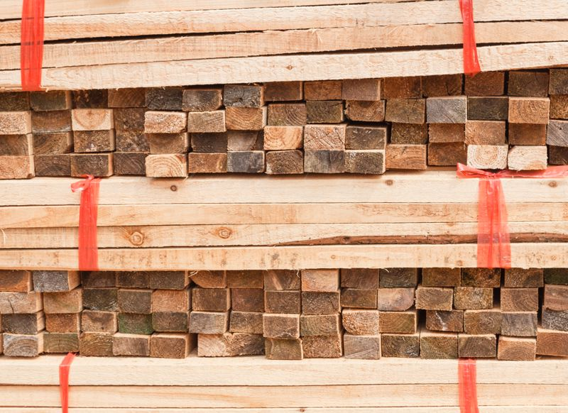 Lumber prices have skyrocketed, and certain types are difficult to locate.