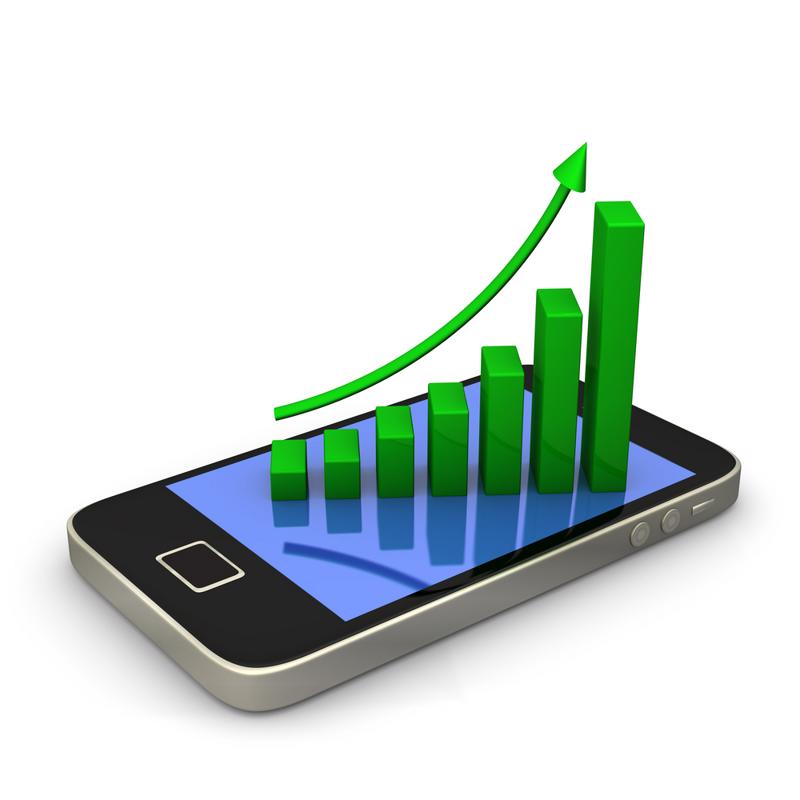 Mobile usage should increase drastically over the next five years.