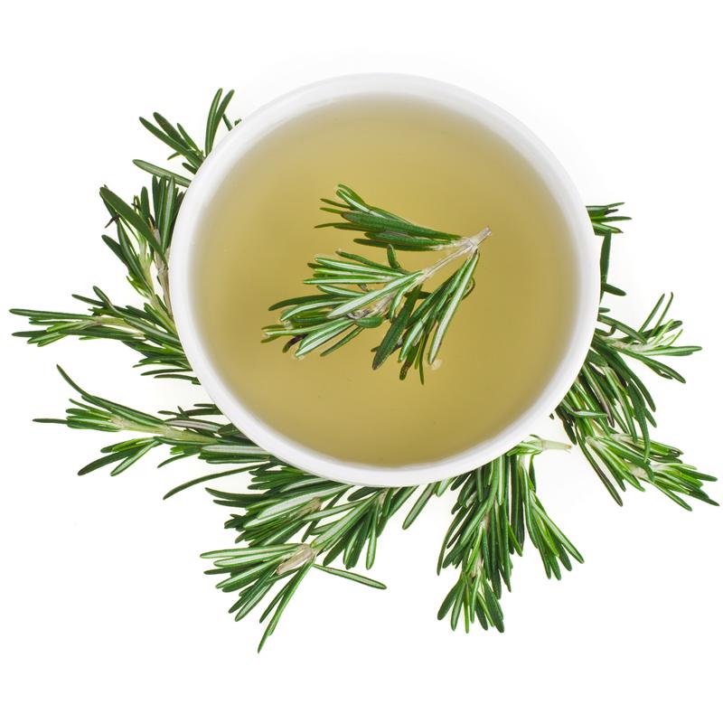 Add rosemary to your tea on a chilly morning.