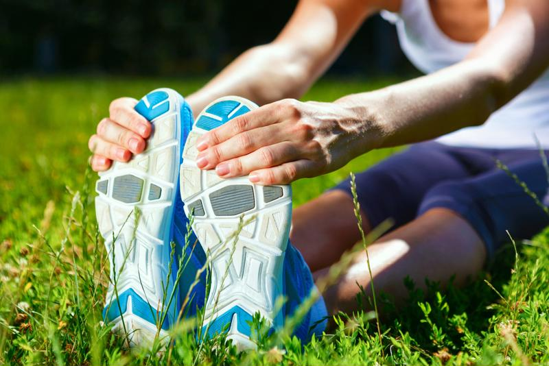 Stretch before any physical activity - including yard work.